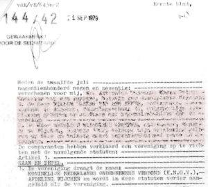 40 jaar MKB Wijchen statuten